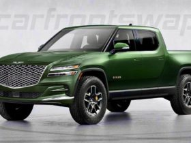 hypothetical-genesis-gv80-truck-shows-the-rivian-r1t-in-cahoots-with-hyundai