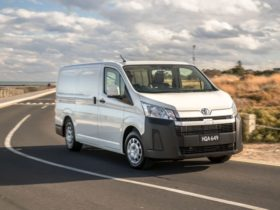 2021-toyota-hiace:-white-paint-now-the-only-colour-option,-vehicle-tracking-standard-–-update