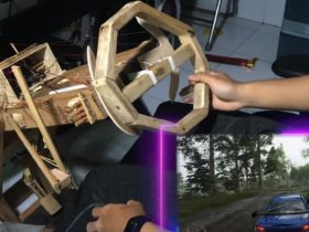 genius-builds-steering-wheel-with-pedals-to-play-forza-using-nothing-but-wood