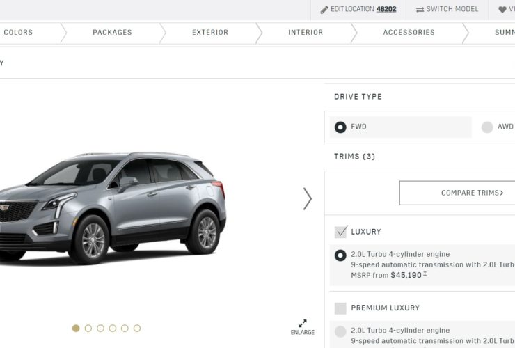 2022-cadillac-xt5-configurator-goes-live,-mid-size-crossover-priced-from-$44k