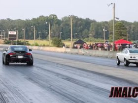 turbo-and-nitrous-toyota-supra-drags-mustang-and-old-camaro,-they're-very-close