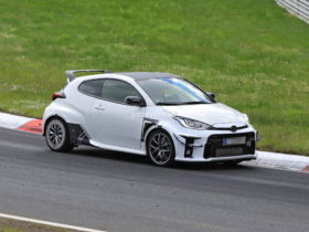 more-extreme-toyota-gr-yaris-spied-at-the-nurburgring-with-big-wing,-other-mods