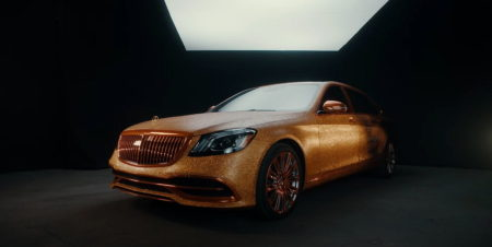 """mercedes-benz-turns-its-maybach-s-560-into-a-glittery-gold-modern-""""chariot"""""""