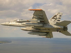f/a-18-super-hornet-launches-long-range-anti-radiation-missile-in-live-fire-test