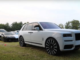 rapper-shows-off-rr-cullinan-on-huge-wheels,-sick-two-face-'vette-c8,-and-others