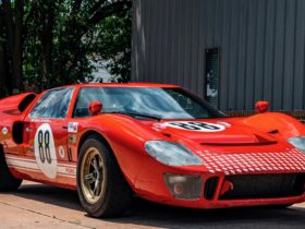 """1966-rcr-ford-gt40-replica-stunt-car-from-""""ford-v.-ferrari""""-heads-to-auction"""