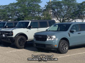 spotted-2022-ford-maverick-comparison-galore:-bronco,-ranger,-and-f-150-join-in