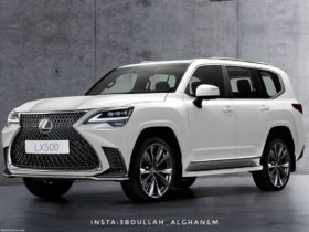 2022-lexus-lx-rendered-with-huge-spindle-grille,-full-width-taillights