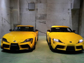 this-awesome-toyota-gr-supra-is-made-entirely-out-of-legos,-drives