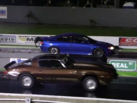 home-built-twin-turbo-2004-pontiac-gto-drags-vintage-camaro-z28,-it's-not-even-close