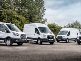 2022-ford-e-transit-begins-customer-trials,-keeps-groceries-fresh-and-chilled