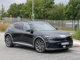 2022-genesis-gv60-spied-without-camo-after-official-reveal,-looks-sleek