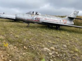 abandoned-raf-airfield-is-home-to-a-bunch-of-rare-dassault-mystere-fighter-bombers