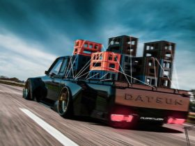slammed-cgi-datsun-truck-looks-widebody-enough-to-handle-any-milk-crate-challenge