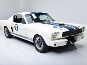 racing-legend-stirling-moss's-1966-ford-mustang-shelby-gt350-heads-to-auction