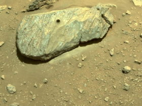 take-two:-nasa-perseverance-rover-digs-up-a-hole-on-mars-to-collect-its-first-rock
