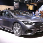 live-pics:-the-2023-mercedes-eqe-is-either-way-ahead-of-its-time,-or-just-plain-ugly