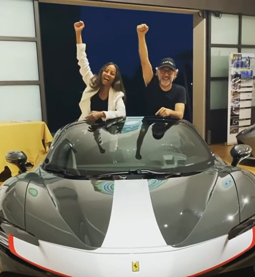 zoe-saldana-jokes-about-possible-fast-and-furious-role-from-inside-a-ferrari-sf90-spider