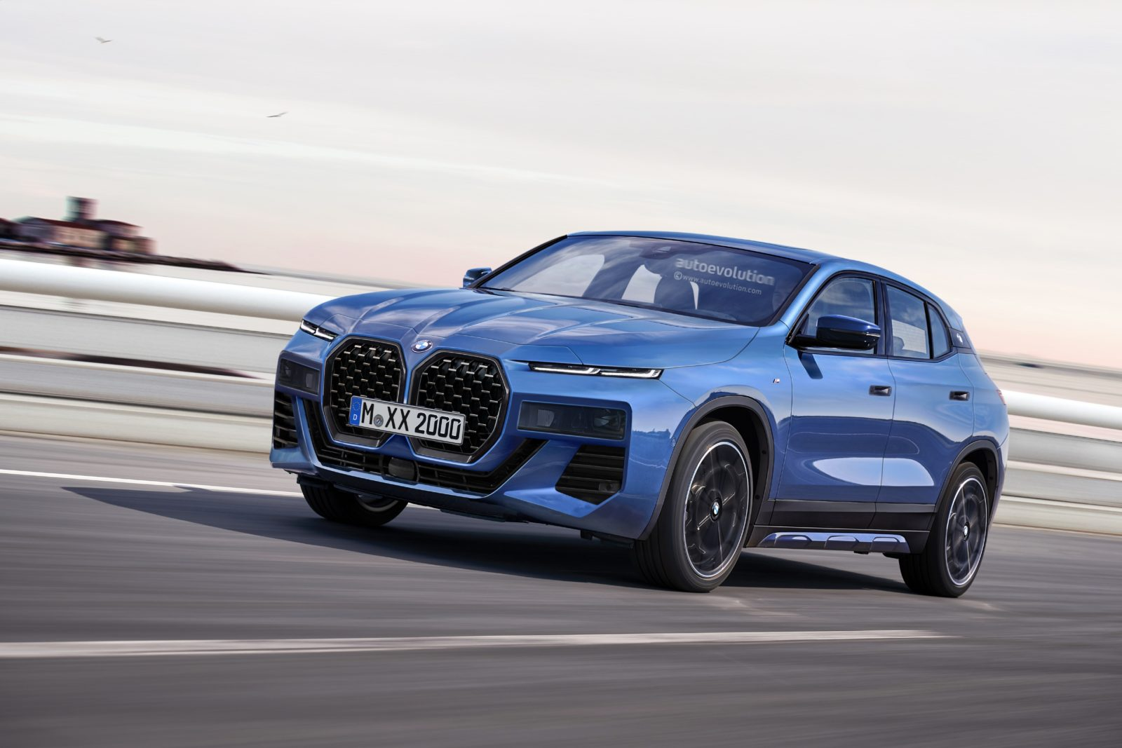 upcoming-bmw-x2-redesign-imagined-with-split-headlights,-large-kidney-grille