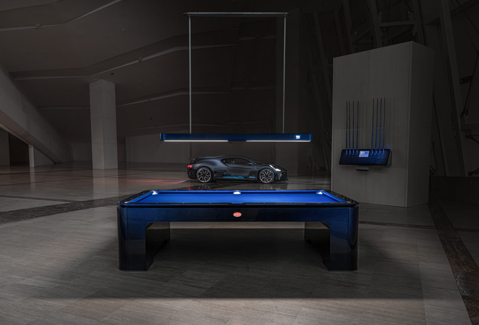 this-is-the-first-bugatti-pool-table,-and-it-costs-new-lamborghini-huracan-money