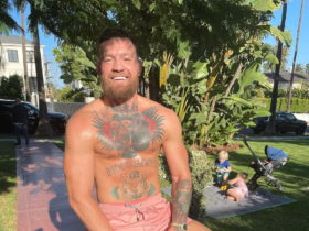 conor-mcgregor-on-a-training-bike-looks-like-a-tiger-with-an-exciting-toy