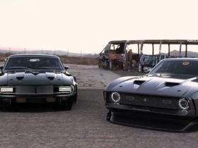 cyberpunk-shelby-gt500kr-and-429-cobra-jet-mustang-have-a-growling-widebody-meet