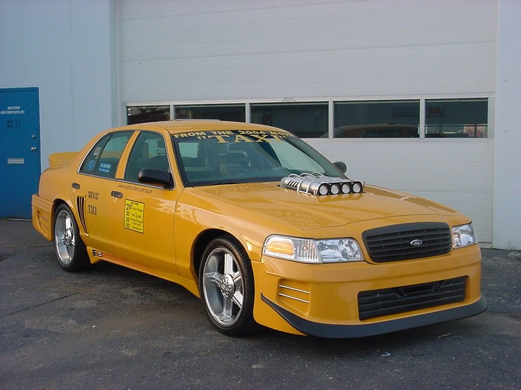 """custom-1999-ford-crown-victoria-used-in-2004-""""taxi""""-movie-is-for-sale,-street-ready-too"""