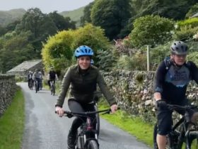 duchess-of-cambridge-mountain-biking-and-abseiling-after-boat-trips-and-visiting-air-base