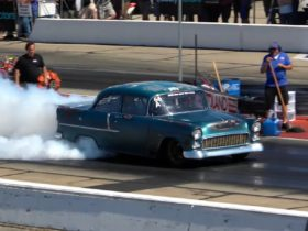 1955-chevrolet-bel-air-looks-like-a-barn-find,-but-it's-a-7-second-drag-monster