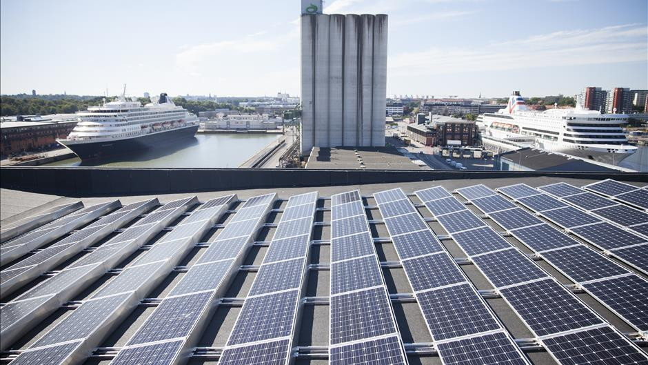 sweden's-largest-port-solar-cell-system-could-power-25-houses