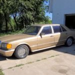 ultra-rare-mercedes-benz-500-sel-amg-comes-out-of-storage-after-27-years,-v8-fires-up