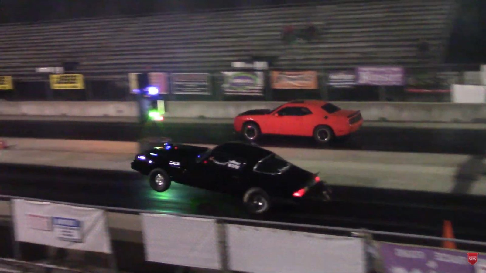challenger-hellcat-drags-gto-and-bmw,-classic-wheelie-camaro-poses-a-real-threat