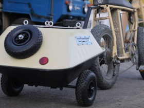 youtube-video:-engineer-builds-awesome-overland-bike-trailer-from-old-wheelbarrows