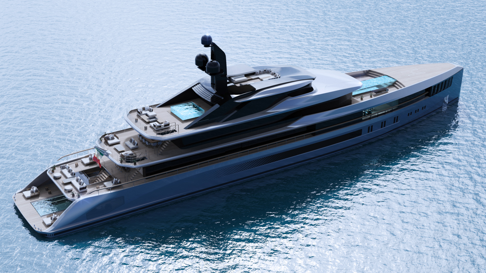 the-apache-superyacht-concept-has-striking-design,-a-flying-pool