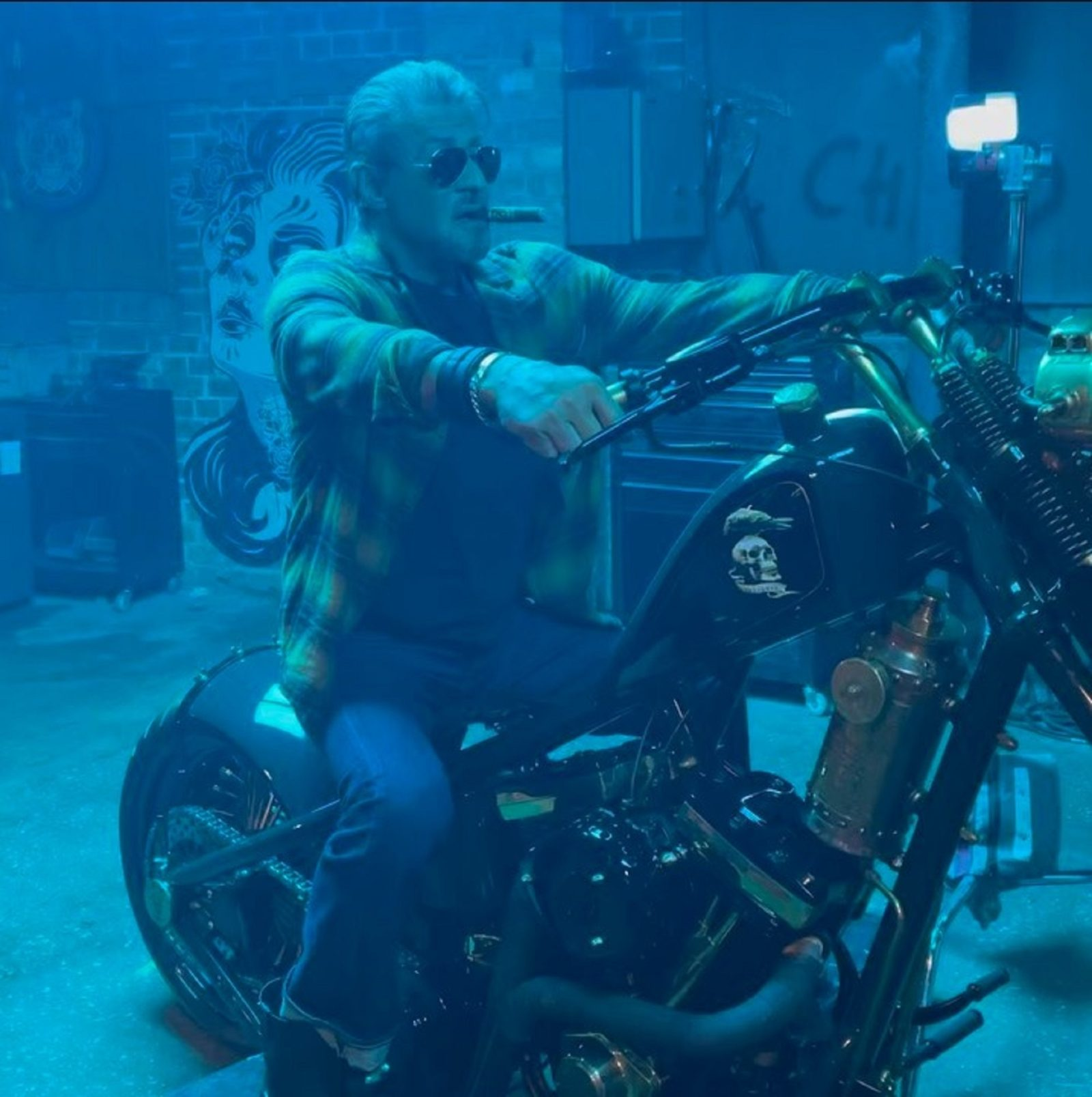 rugged-stallone-rides-a-bike-on-the-set-of-the-expendables,-fans'-excitement-grows