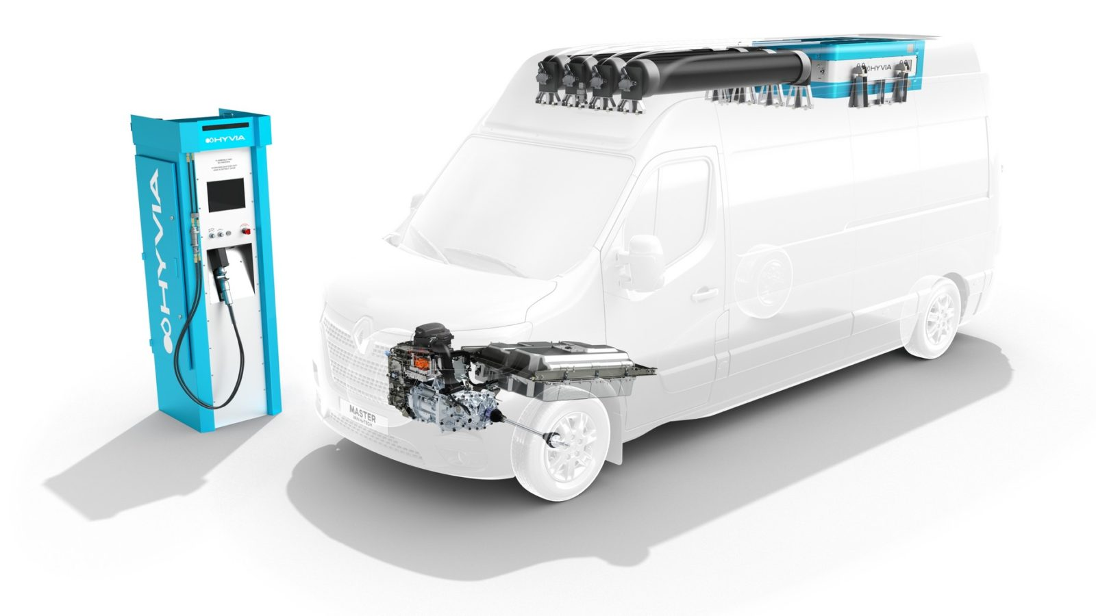 renault-presents-its-first-hyvia-prototypes:-hydrogen-station-takes-precedence