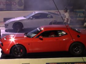 turbo-nissan-300zx-drags-gt500,-camaro-zl1,-supra,-and-hellcat-for-jdm-glory