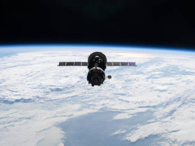 russian-spacecraft-fires-thrusters-and-pushes-the-space-station-out-of-position,-again