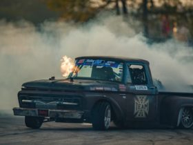 patina-1964-ford-f-100-is-actually-an-ultra-wild-1,000-hp-twin-turbo-drift-truck